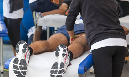 Sports massage and enhanced recovery after the marathon