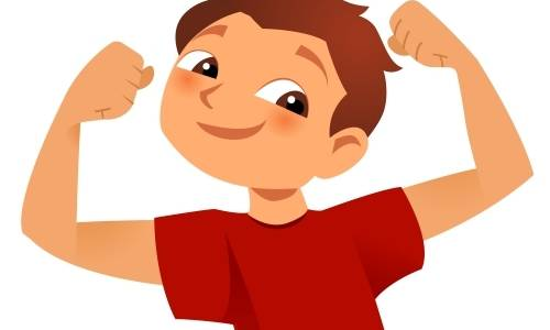 Fall in muscle strength in children