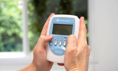 Compex - our new neuromuscular muscle stimulation equipment