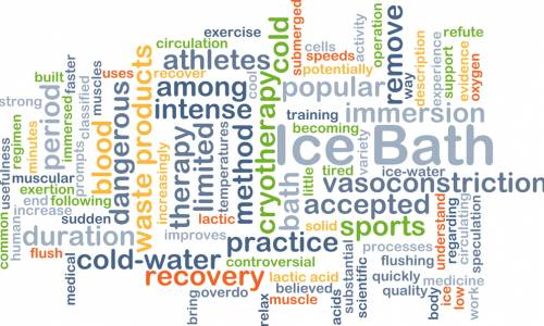 Do ice baths help post-exercise recovery